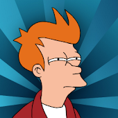 Futurama Fry Clock Widget UCCW