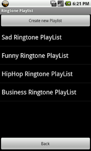 Ringtone Playlist Pro- screenshot thumbnail