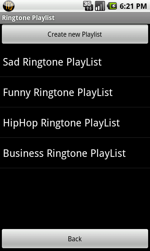 Ringtone Playlist Pro- screenshot