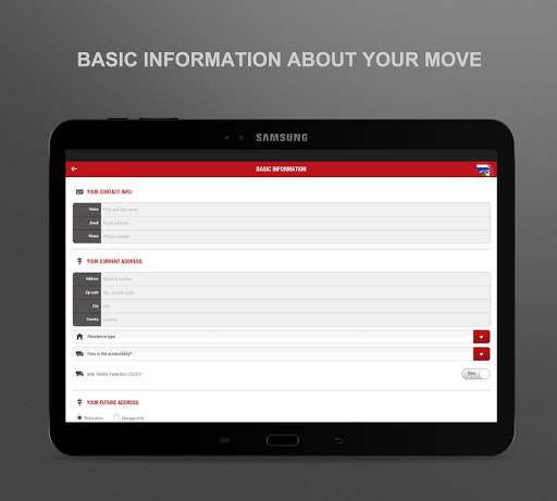 Intermove Survey App