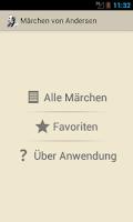 Screenshot of Märchen von Andersen