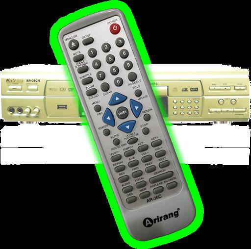 Remote Arirang R36-PHONE