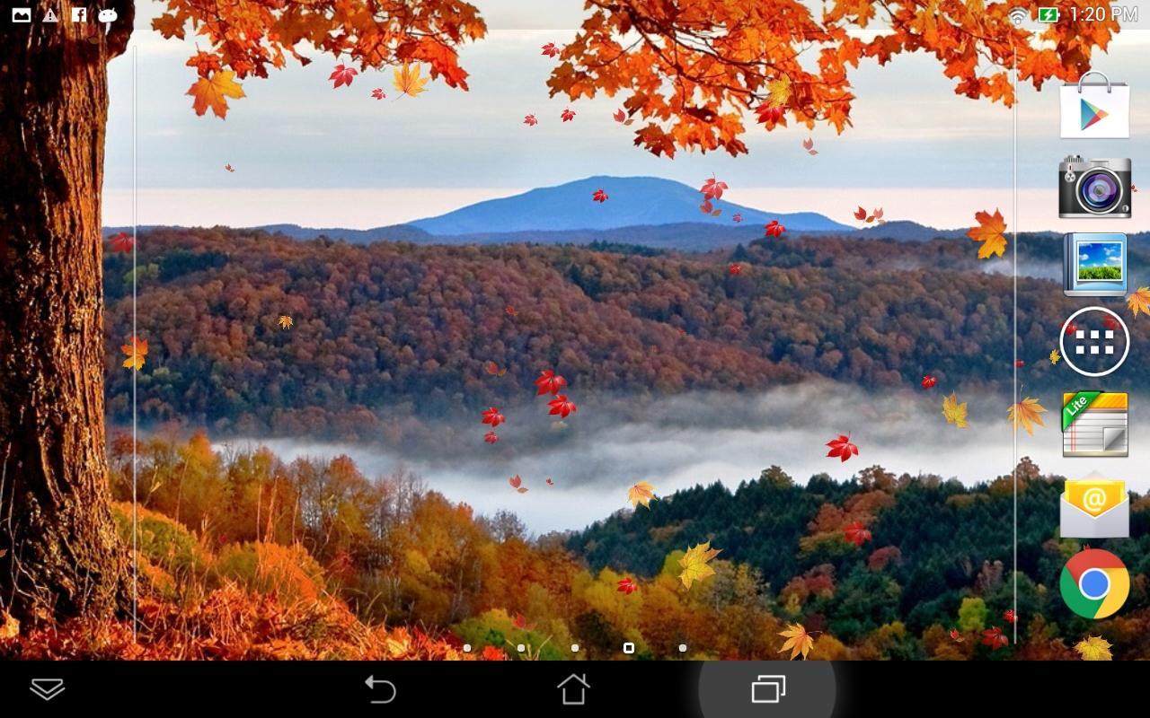 Fallende Blätter Hintergrund - Android-Apps auf Google Play