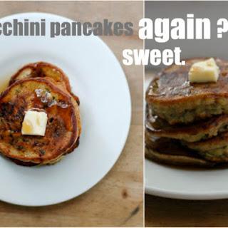 Zucchini Pancakes Redux
