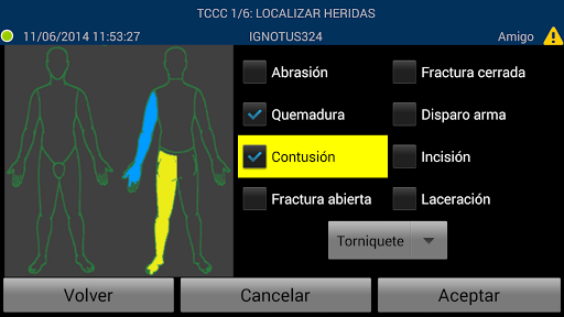 TCCC Form
