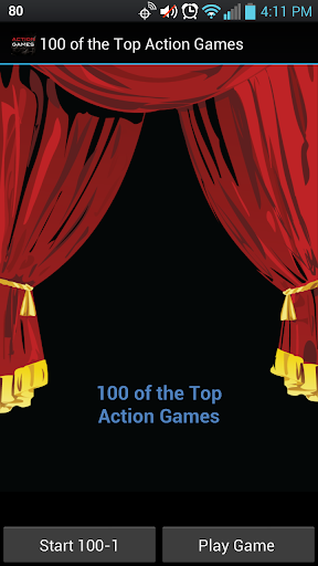 100 of the Top Action Games