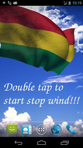 3D Bolivia Flag LWP +