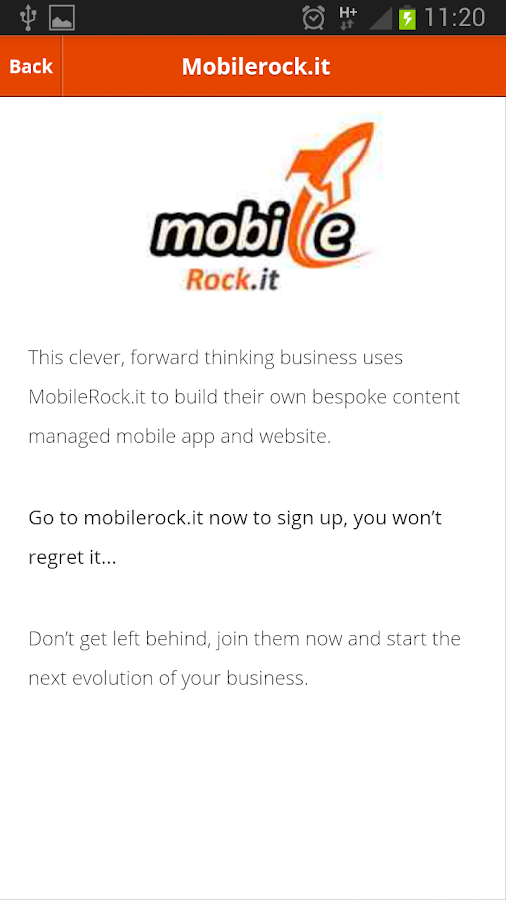 Mobile Rockit - screenshot