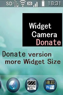 WidgetCamera Donate version - screenshot thumbnail