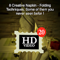 Napkins Folding tips icon