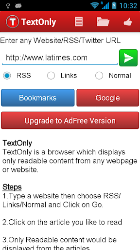 TextOnly Reader Pro