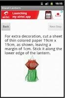 Screenshot of Diwali Lantern Making