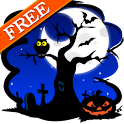 Halloween Skyline Free LWP icon