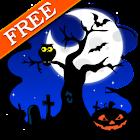 Halloween Skyline Free LWP icon
