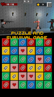 Pixel Puzzle - Gun Survival screenshot