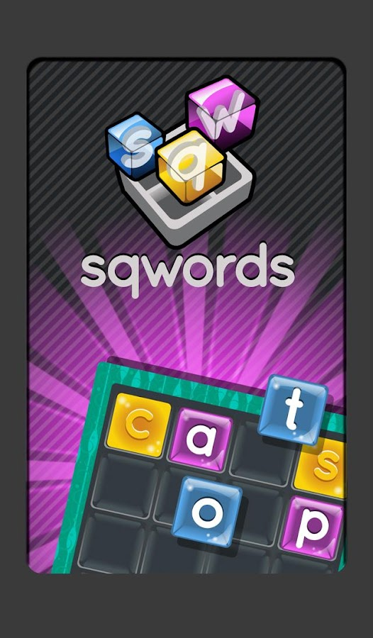 Sqwords Free - Word Game- screenshot