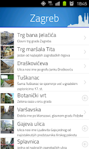 VoiceGuide Zagreb HR screenshot 1
