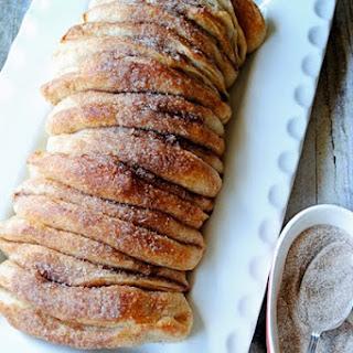 Cinnamon And Sugar Pull Apart Loaf.