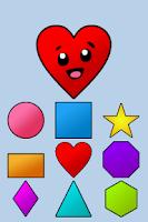 Screenshot of Toddler Shapes Kids