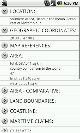 【免費生產應用App】Madagascar Facts-APP點子
