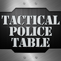 Tactical Police Table icon
