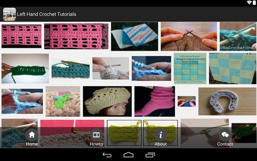 Left Hand Crochet Tutorials
