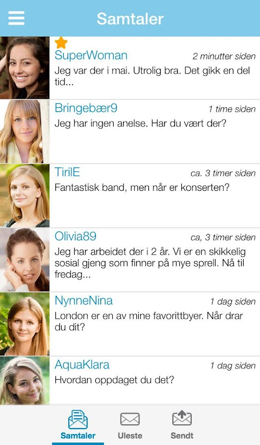 Dating på Sukker- screenshot