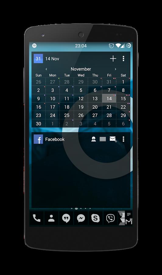 APW Theme 192C Black - screenshot