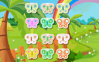 Screenshot of Puzzle Game-Rabble Butterflies