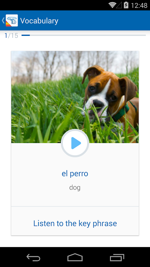 Learn Spanish - Speak Spanish- screenshot