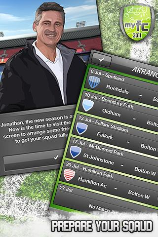 MYFC Soccer Manager- screenshot