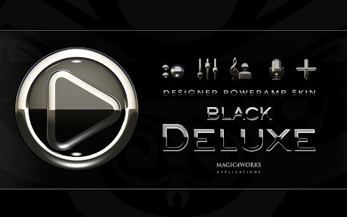 poweramp skin black luxury
