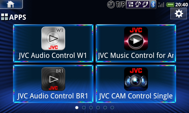 JVC Smart Music Control - screenshot