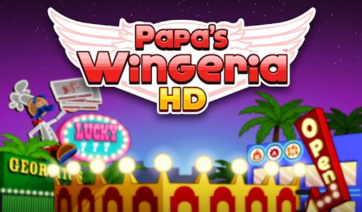Papa's Wingeria HD