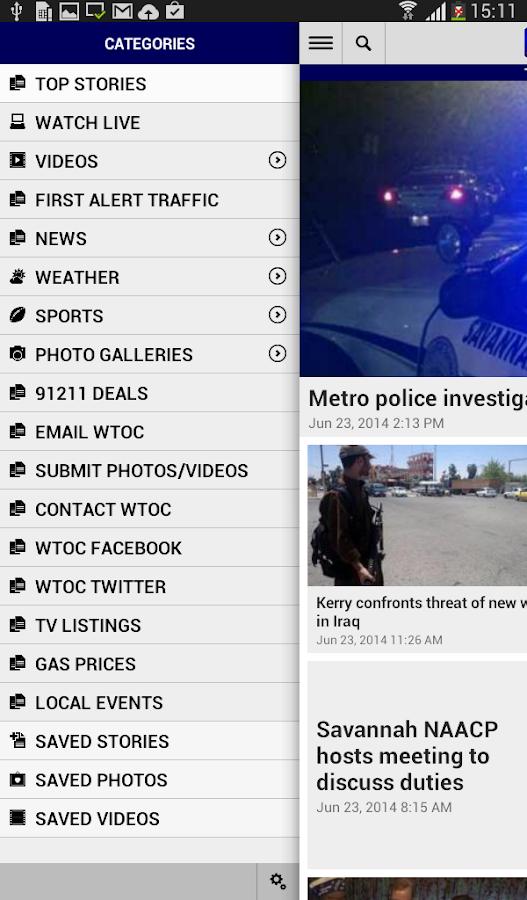 WTOC 11 News - screenshot