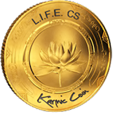 Karmic Coin Virtues Social
