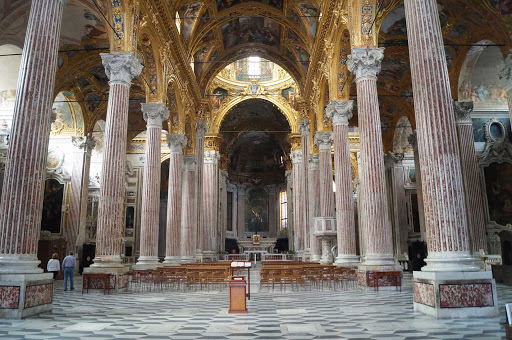 St. Lawrence Cathedral in Genoa, Italy.
