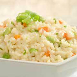 Citrus Vegetable Risotto.