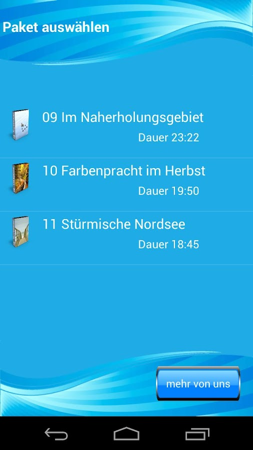 3 Herbst Fantasiereisen - screenshot