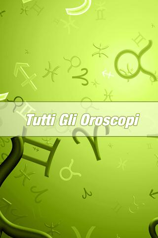 Tutti gli Oroscopi TGO