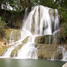 waterfall by Ferdinand Debnárik - Landscapes Travel