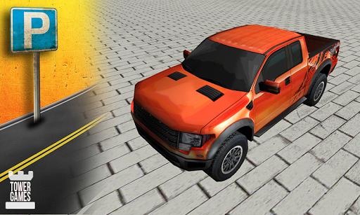 Pickup Truck Parking 3D