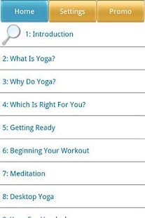 Guide to Yoga and Meditation - screenshot thumbnail
