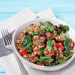 Quinoa and Wheat Berry Salad