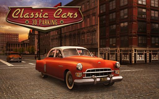 經典汽車的3D停車體驗