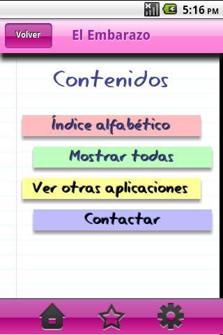 Diccionario Embarazo- screenshot