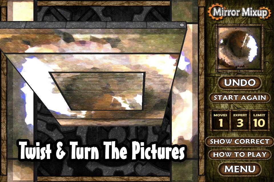 Mirror Mixup Lite- screenshot