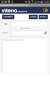 Poczta INTERIA.PL - screenshot thumbnail