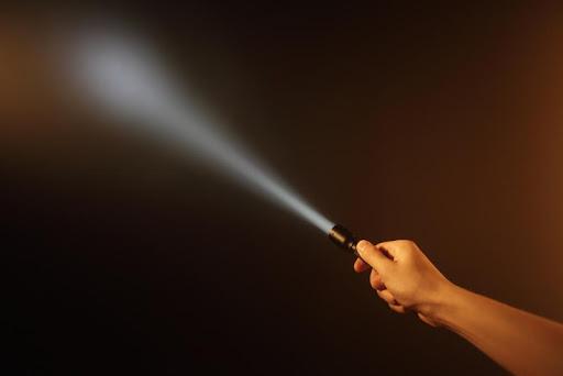 閃爍的手電筒筒