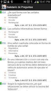 Examen Reglas Touring - screenshot thumbnail